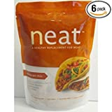 Neat Mexican Mix, Vegetarian (Ground Beef Substitute) - 5.5 oz (Pack of 6)