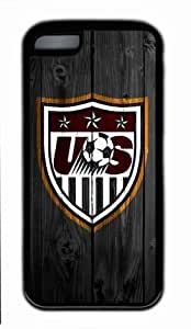 Designed US Soccer Team iPhone 5s for you Black Hard Case by Popcustom