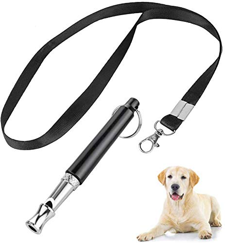 Mumu Sugar Professional Dog Whistles to Stop Barking, Trasonic Silent Dog Whistle Adjustable Frequencies, Effective Way of Training, Whistle Dog Whistle for Recall Training (Best Way To Stop Dog Barking)
