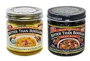 Better than Bouillon Beef Base, Organic Chicken Base
