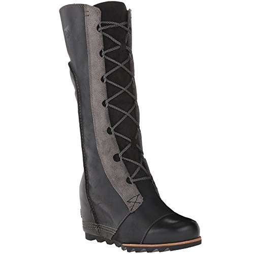 SOREL Women's Cate the Great Wedge Black 8.5 B - Medium by SOREL
