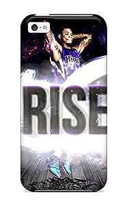 Iphone 5c Hard Back With Bumper Silicone Gel Tpu Case Cover Sacramento Kings Nba Basketball (17)