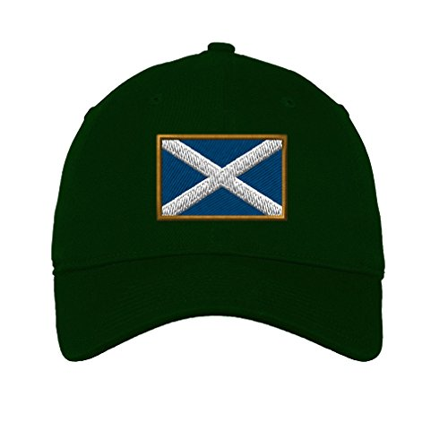 - Speedy Pros Scotland Twill Cotton 6 Panel Low Profile Hat Forest Green