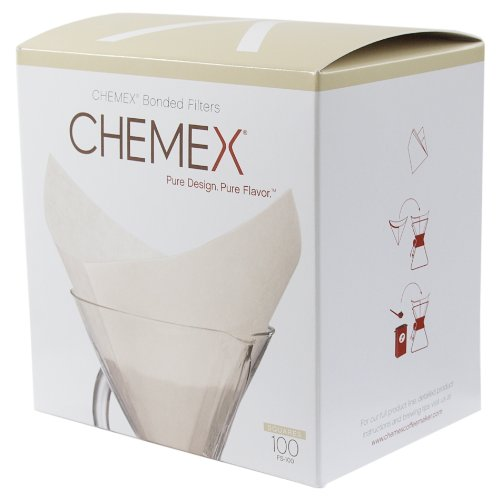 Chemex FS-100 Coffee Filters with 100-Chemex Bonded Filter - One Square Shops