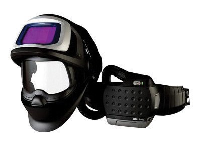 (3M 36-1101-20SW Adflo Belt-Mounted Universal Lithium Ion High Efficiency PAPR System with Speedglas 9100 FX-Air Welding Helmet and 5, 8-13 Shade, Speedglas 9100XX, Plastic, 1