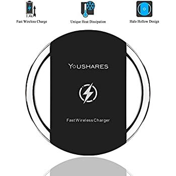 Amazoncom Wireless ChargerLOVPHONE QI Wireless Charging Stand - Clever magnetic wall clock charges phone wirelessly