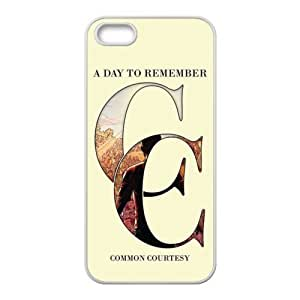 Customize Famous Rock Band A Day To Remember Back Case for iphone5 5S JN5S-2221
