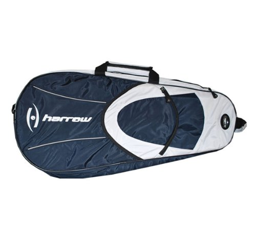 Harrow 6-Racquet Bag, Navy/White