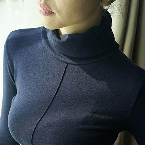 Xxl Alto Mujer Cuello Tfdgh Suéter Mujer Otoño S Invierno Suéteres Para 4z046gq