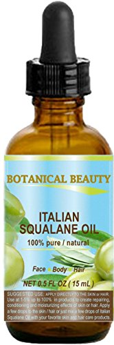SQUALANE Italian. 100% Pure / Natural / Undiluted Oil. 100%