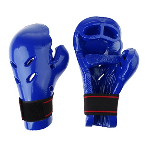 Homyl Breathable Boxing Training Gloves Fighting Gloves for Taekwondo Kickboxing Widening Wrist Band With for Maximum Protection