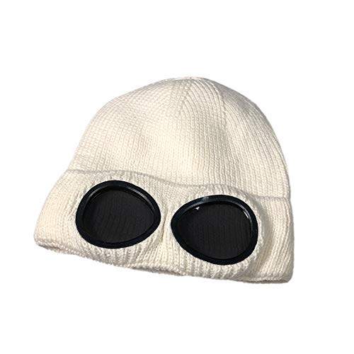 Clearance! Fheaven Women Warm Winter Hats Knitted Wool Hemming Hat Hi-pop Outdoor Cap (White) (Hi Hat Mic)