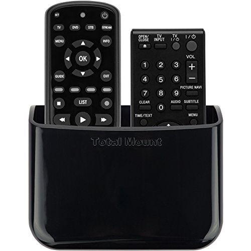 TotalMount Universal Remote Holder (Quantity 1 - Two Remotes per Holder) (Apple Remote Holder Tv)