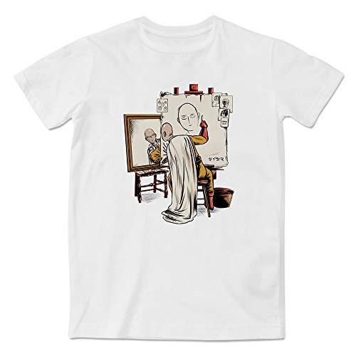 Self Portrait T-shirt - Apexshell Men's and Women's Modal&Cotton Graphic T-Shirt, One Punch Man Triple Self Portrait Short Sleeve Tees