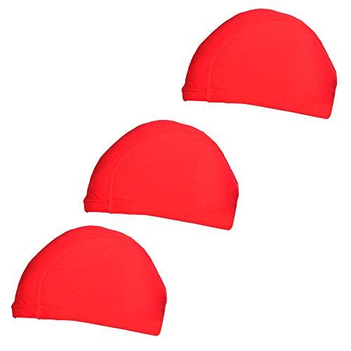 COSMOS Elastic Lycra Swimming Caps