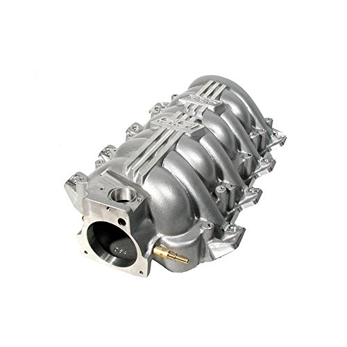 BBK 97-04 GM LS1 BBK SSI Series Performance Intake Manifold - Titanium Silver Powdercoat (5004) (Ssi Manifold Intake Ls1)