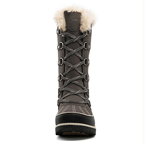 Global Win Womens Globalwin Womens Fur Trek Winter Boots 1729grey