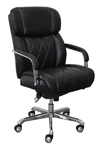 - LaZBoy CHR10048A Sutherland Manager Chair, Black