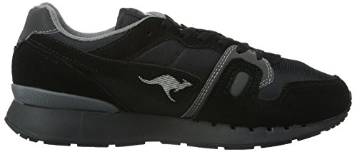 Ii Grey Kangaroos Black 522 Dk Black Adults' Unisex Low Omnicoil Sneakers Top Schwarz gFFUx5q