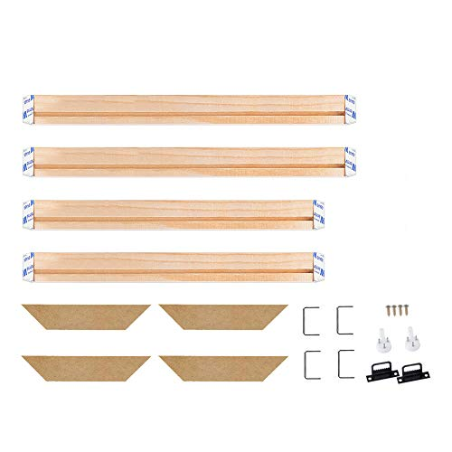 - WITUSE Wooden Frame Canvas Stretcher Bars Canvas Frame for Oil Painting Gallery Art Work-16