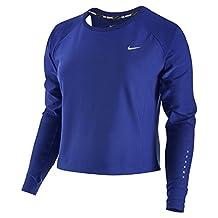 Nike Women's Run Free Long Sleeve Crop Crew Shirt 719493