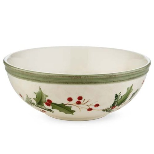 Lenox Holiday All Purpose Bowl - Lenox Holiday Gatherings Berry All-Purpose Bowl