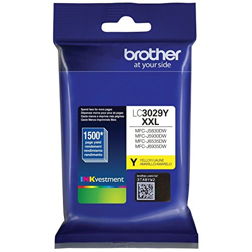 (Brother LC3029Y Super High Yield Yellow Ink Cartridge)