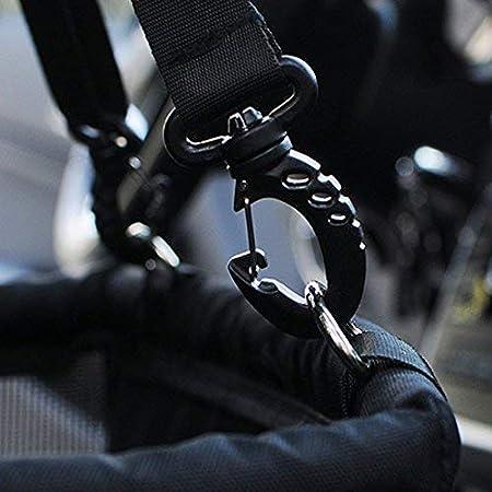 Slopow Asiento del Coche de Seguridad para Perro y Gato Mascotas Cubierta de Asiento Impermeable de Autom/óvil para Mascota Funda Protector de Coche Plegable con Cintur/ón de Seguridad Negro /& Blanco