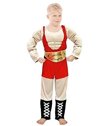 Partylandia Disfraz de Forzudo Infantil - Niño, de 7 a 9 años