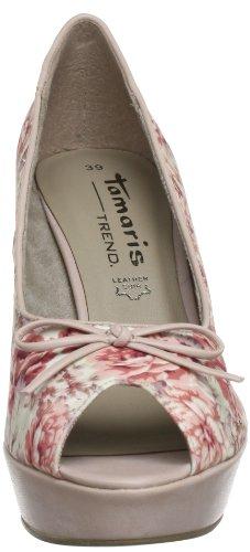 Tamaris-TREND 1-1-29308-20 Damen Peep-Toe Mehrfarbig (ROSE COMB 591)