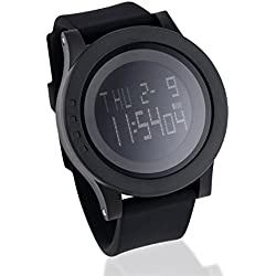 Oct17 Fashion Digital Electronic Waterproof Military LED Sport Multifunction Wrist Quartz Watch Alarm Stopwatch