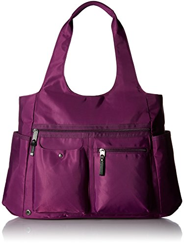 Baggallini Get Along Large Tote, Mulberry by Baggallini