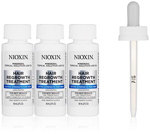 Nioxin Minoxidil Hair Regrowth Treatment Men, 6 - Treatment Minoxidil