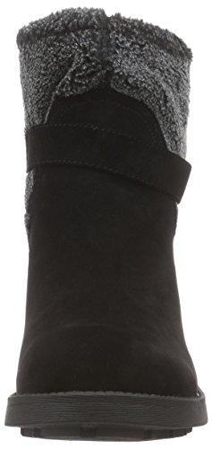 Rocket DogTERRIAN - botas de motorista sin forro Mujer Negro - Schwarz (BLACK AA0)