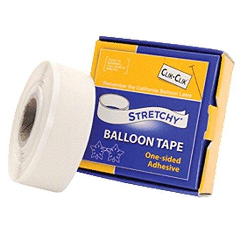 Clik-Clik Stretchy Balloon Tape (19mm x 7.6m)