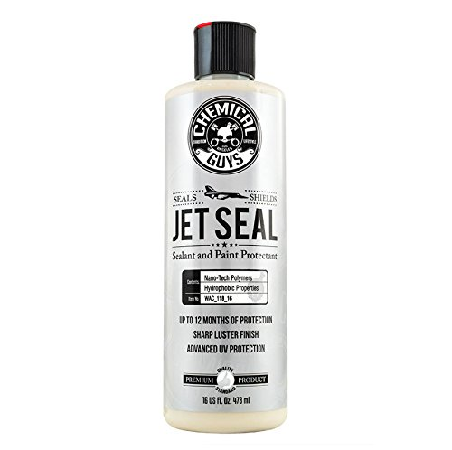 Chemical Guys WAC_118_16 JetSeal Paint Sealant & Paint Protectant with UV Protection & Hydrophobic Properties (16 oz)