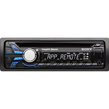Sony MEXBT3100P Bluetooth Digital Media CD Receiver with Pandora Control on