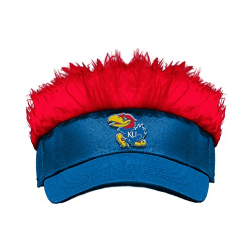 The Northwest Company Officially Licensed NCAA Kansas Jayhawks Flair Hair Visor ()