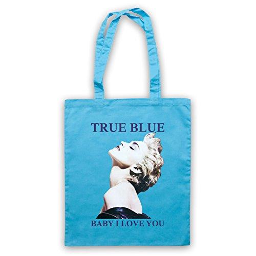 Madonna True Blue Baby I Love You Bolso Azul Cielo