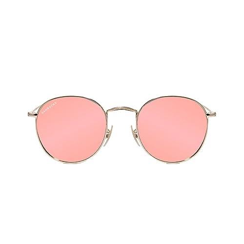 SAWROCKS – London Mirror Pink – Gafas De Sol Mujer – Dorado/Rosa