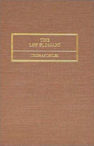 The Law Glossary: Being a Selection of the Greek, Latin, Saxon, French, Norman & Italian Sentences, Phrases, & Maxims, Found in the Leading English & American Reports, (1856) by The Lawbook Exchange, Ltd.