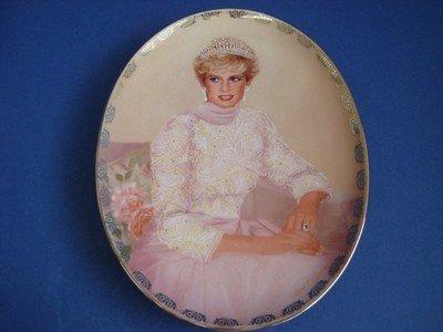 (1998 Bradford Exchange Porcelain Plate -- PRINCESS DIANA -- PLATE #5