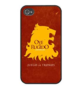 House Lannister - Game of Thrones - Funda Carcasa para Apple iPhone 4 / iPhone 4S