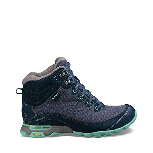 Ahnu Women's W Sugarpine II Waterproof Hiking Boot, Insignia Blue, 9.5 Medium (Blue Hiking Boots)