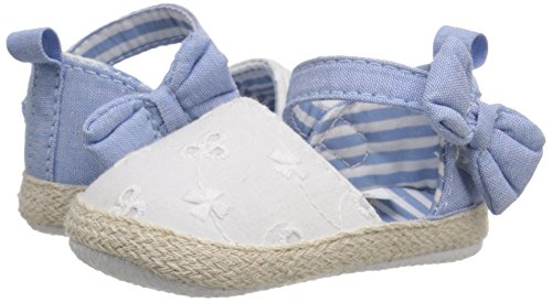 Pictures of Luvable Friends Girl's Bow Espadrille Sandal 4 M US Toddler 4