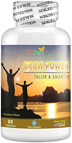 Grow Power Pills Teens Height Supplement product image