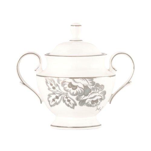 (Lenox Floral Waltz Sugar Bowl with Lid)