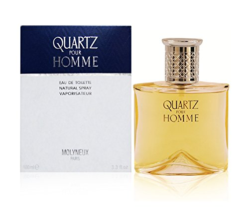 Quartz Pour Homme By Molyneux Eau-de-toilette Spray, 3.3 Ounce.