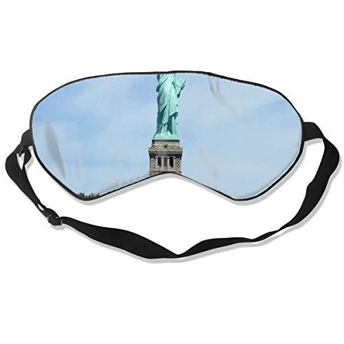 Eye Mask New York City Statue of Liberty Designer Eyeshade Sleep Mask Soft for Sleeping Travel for -