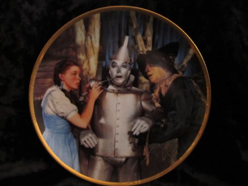 Wizard of Oz: The Tin Man Speaks by Hamilton Collector Plate
